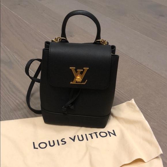 1bdc036be711 Louis Vuitton Handbags - Louis Vuitton Lockme Backpack - MINI - BLACK GOLD
